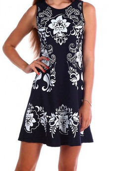 ХИТ продаж: летнее платье без рукавов из тонкого хлопка Натали