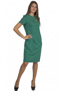 Зеленое платье футляр Bast